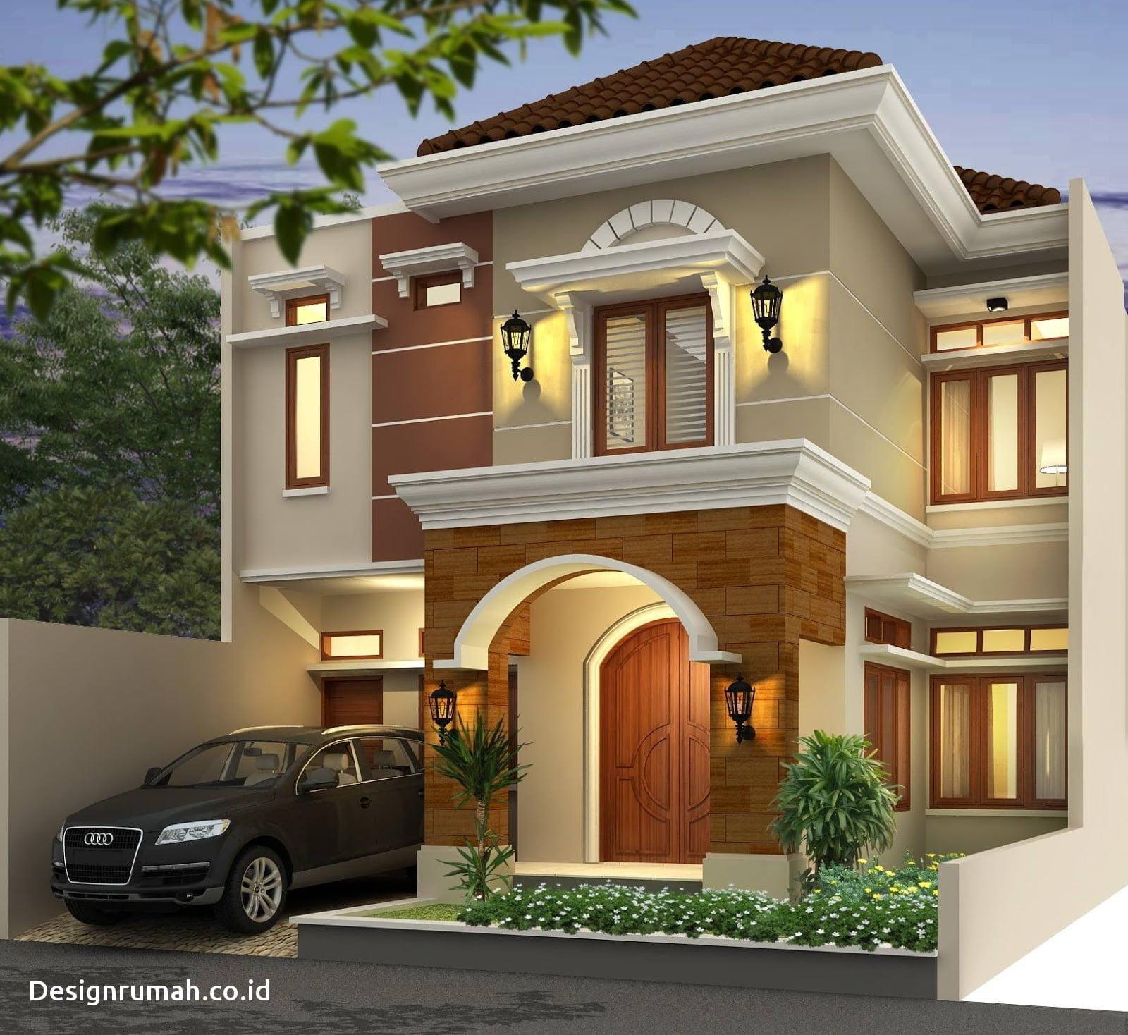 32 Ragam Desain Rumah Minimalis Modern 2 Lantai Terbaru Kreatif Banget Deh Deagam Design