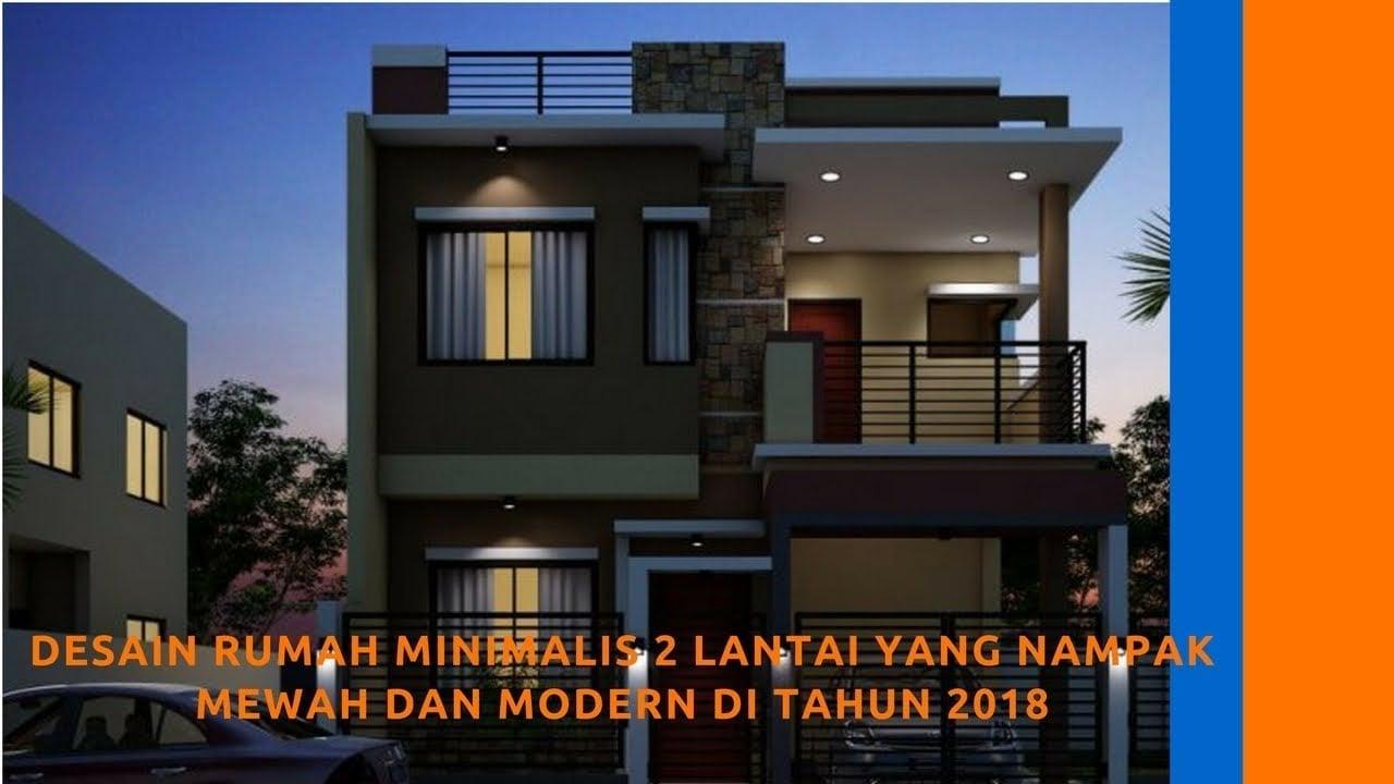 50 Arsitektur Desain Rumah Mewah Modern Minimalis 2 Lantai Terpopuler Yang Harus Kamu Tahu Deagam Design